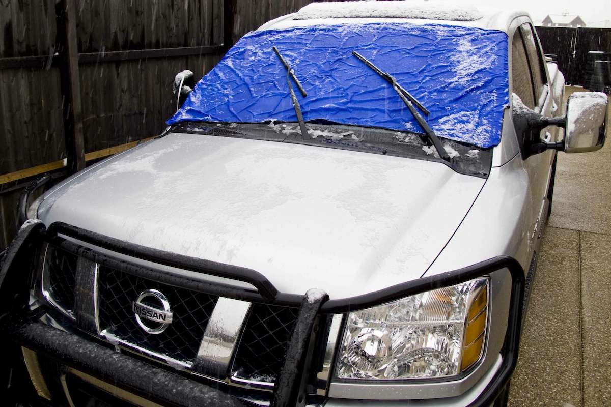 How to Prevent an Icy Windshield
